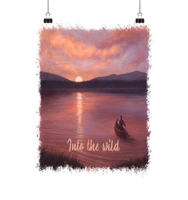 Into the Wild Poster 20x20